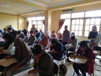 ujian penerimaan mahasiswa baru